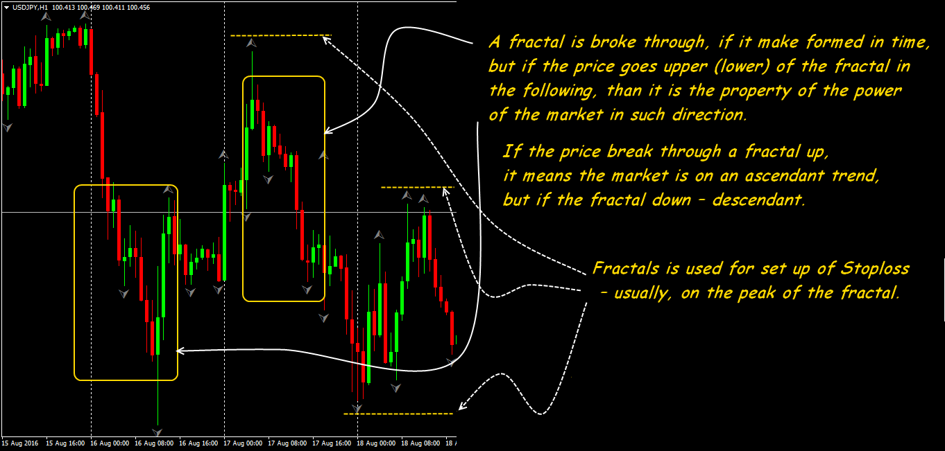 Forex fractals trading